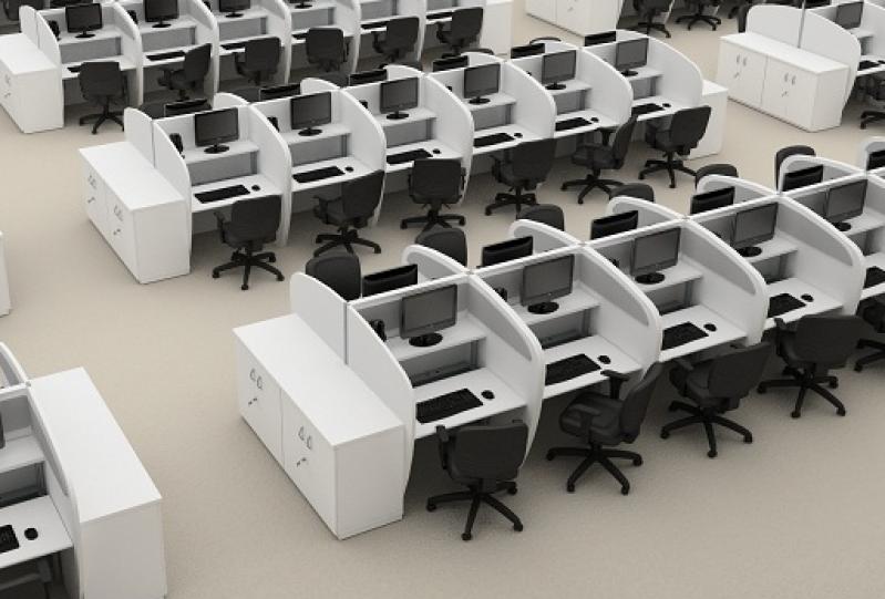 Baias para Escritórios em Engenheiro Goulart - Estação para Call Center