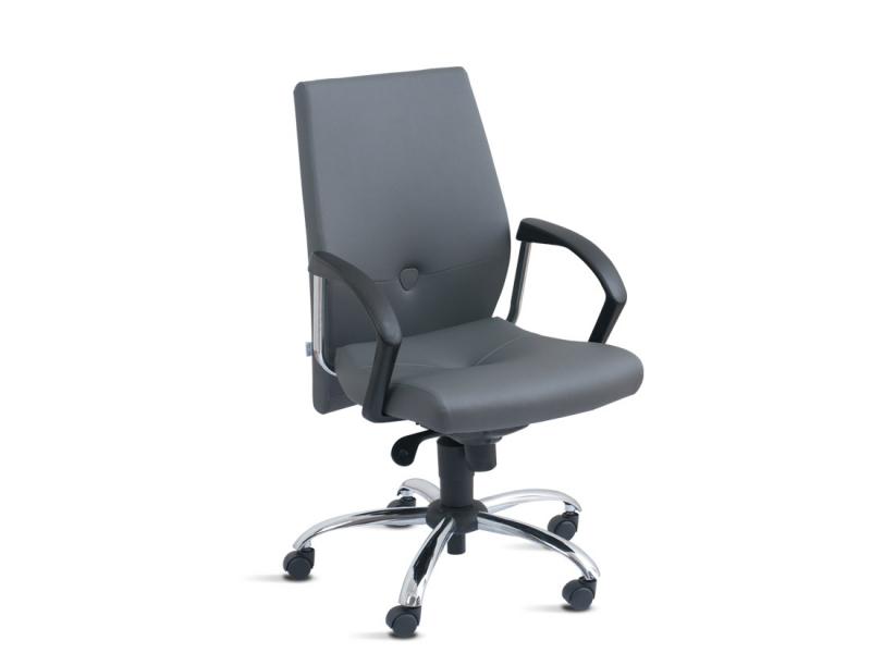 Cadeira para Escritório Ergonômica na CDHU Edivaldo Orsi - Cadeira para Escritório de Madeira