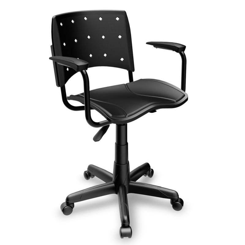 Cadeiras para Escritórios de Plástico no Ibirapuera - Cadeira para Escritório Ergonômica