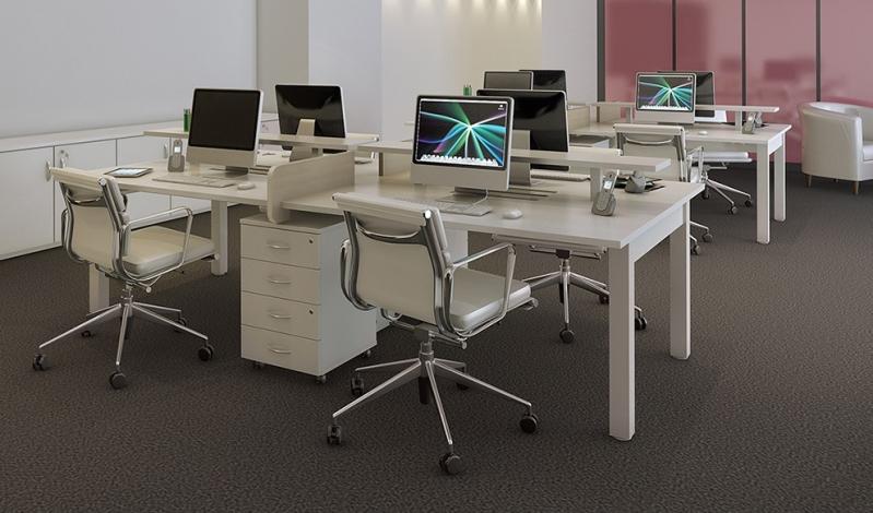 Estações de Trabalho em Bertioga - Estação de Trabalho 6 Lugares