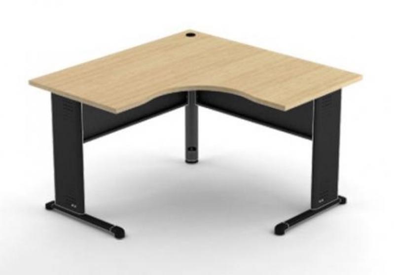 Mesa em L para Escritório no Bairro do Limão - Fabricante de Mesa em L
