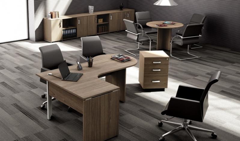 Mesa para Escritório Comercial Jardim Mirassol - Mesa para Escritório Simples