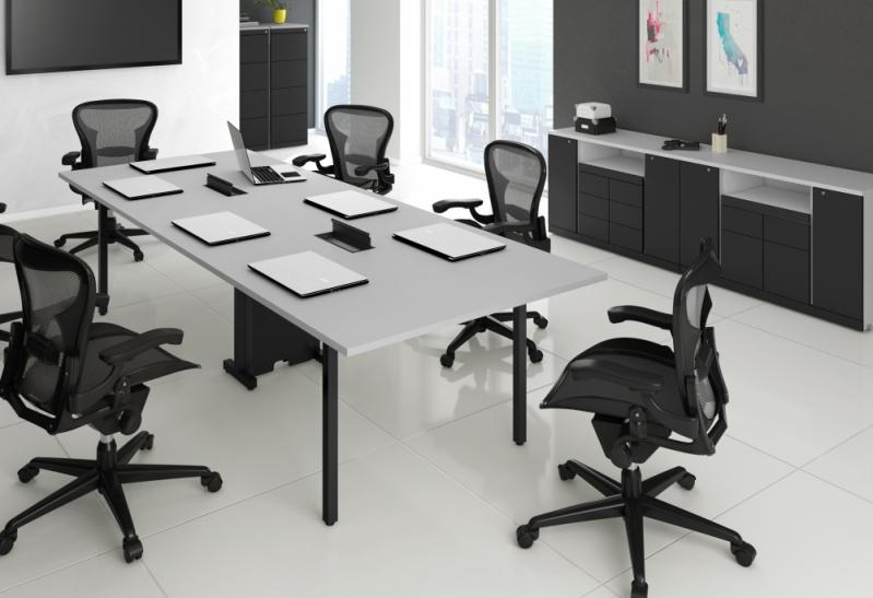Mesa para Escritório de Contabilidade na Bairro San Martin - Mesa para Escritório em L com Gavetas