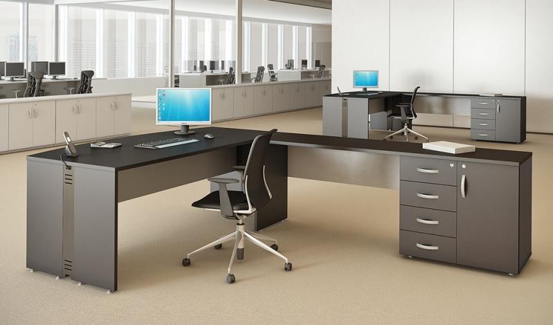 Mesa para Escritório de Madeira Preço em Engenheiro Goulart - Mesas de Escritório em Sp