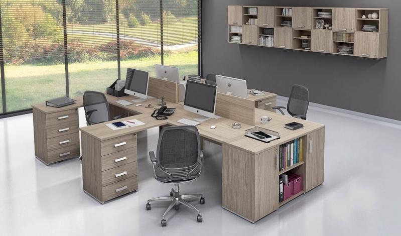 Mesa para Escritório em L Preço em Itaquaquecetuba - Fabricante de Mesa em L