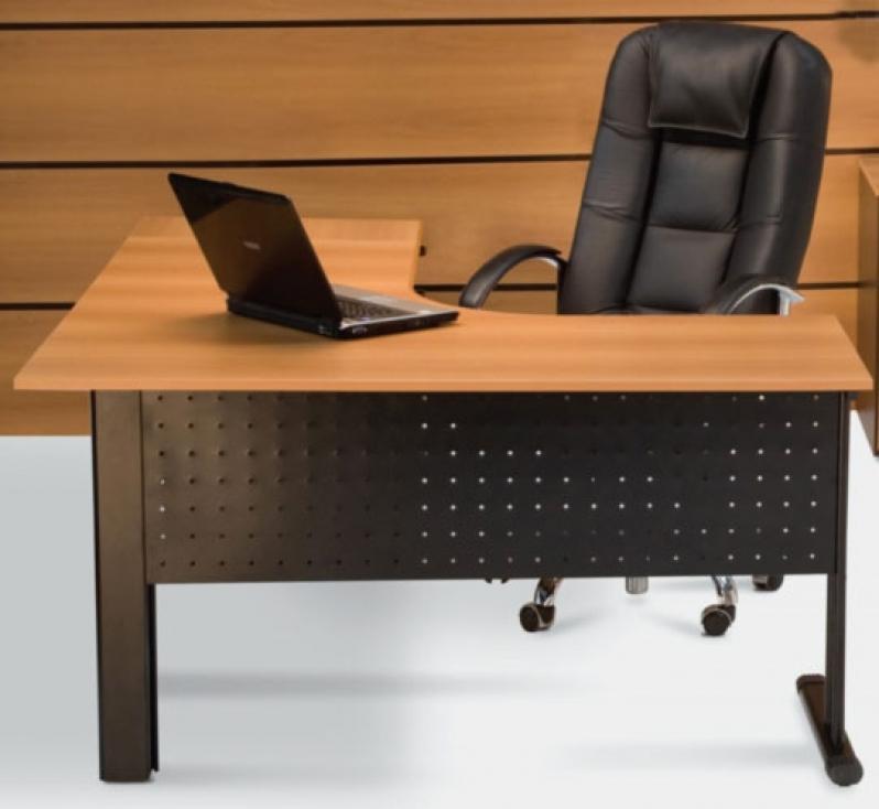 Mesas em L para Escritório Embu - Fabricante de Mesa em L