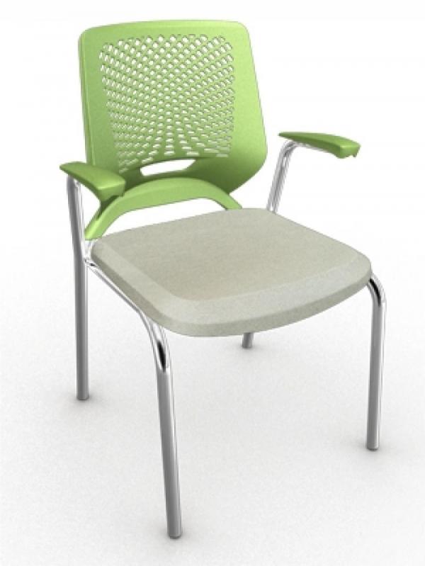 Onde Encontrar Cadeiras para Escritório Fixa na Éden - Cadeira para Escritório Ergonômica