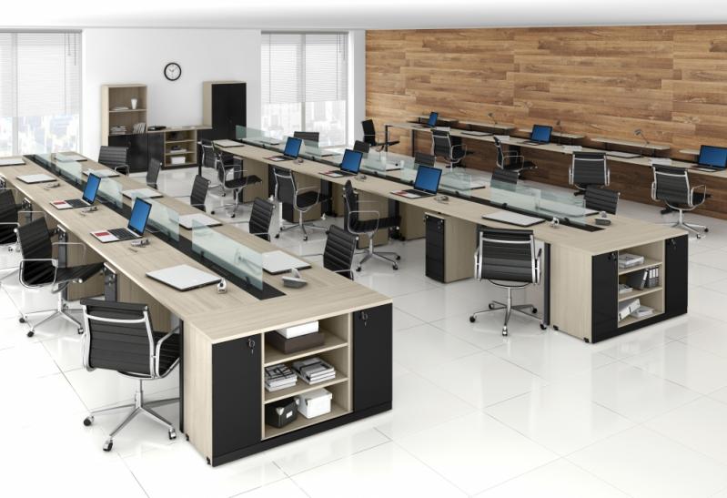 Onde Encontrar Mesa para Escritório de Contabilidade na Vila Santa Luísa - Mesa para Escritório Simples