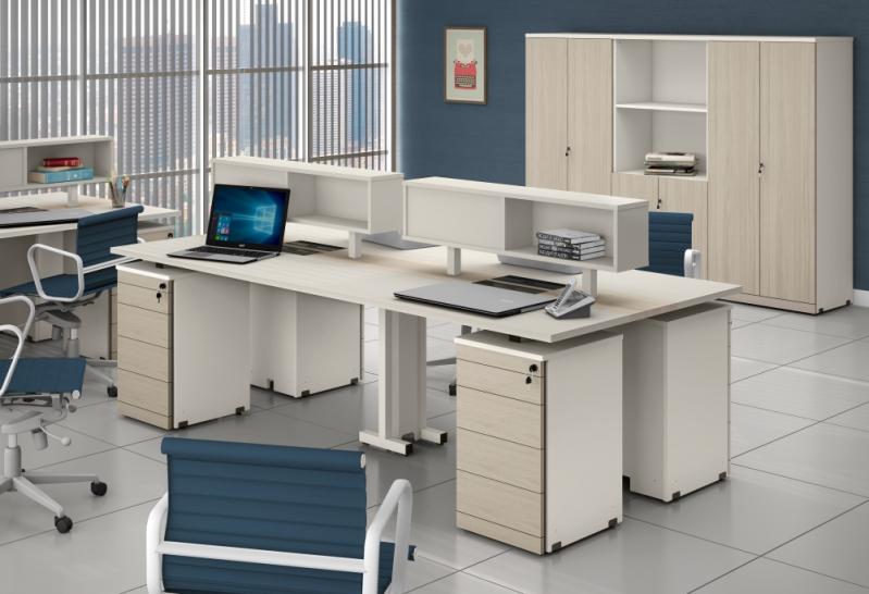 Quanto Custa Estação de Trabalho para 4 Pessoas na Residencial Colina das Nascentes - Estação de Trabalho 6 Lugares