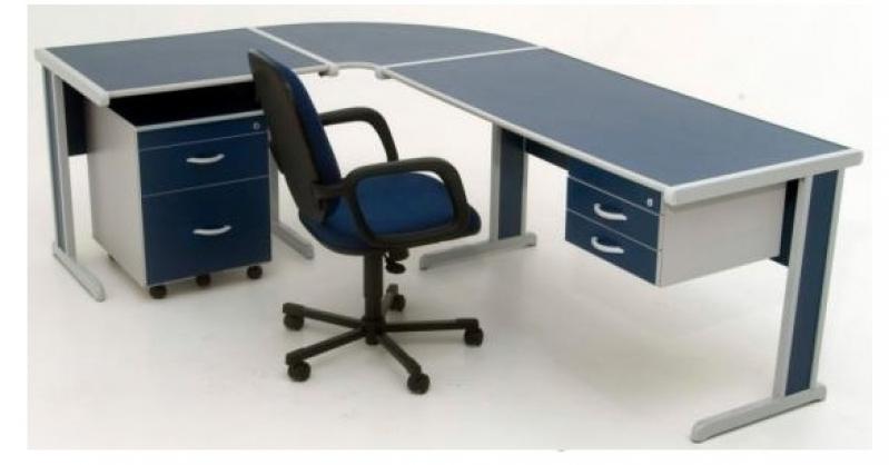 Quanto Custa Mesa em L para Escritório Branca em Cachoeirinha - Fabricante de Mesa em L