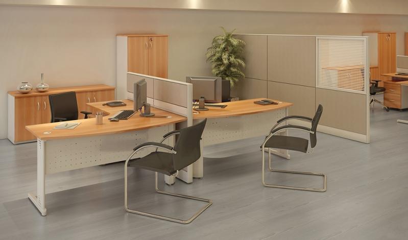 Quanto Custa Mesa para Escritório em L com Gavetas em Cotia - Mesa para Escritório Simples