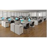 estação de trabalho 6 lugares na Vila Mariana
