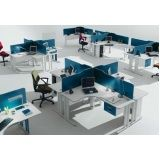 mesa para escritório simples preço em Perus