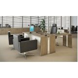 mesas para escritório de madeira na Riqueza