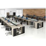 mesa para escritório de contabilidade